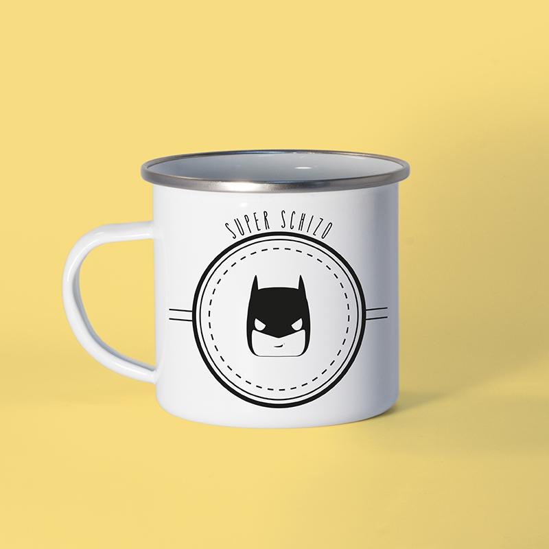 Mug en métal émaillé Batman