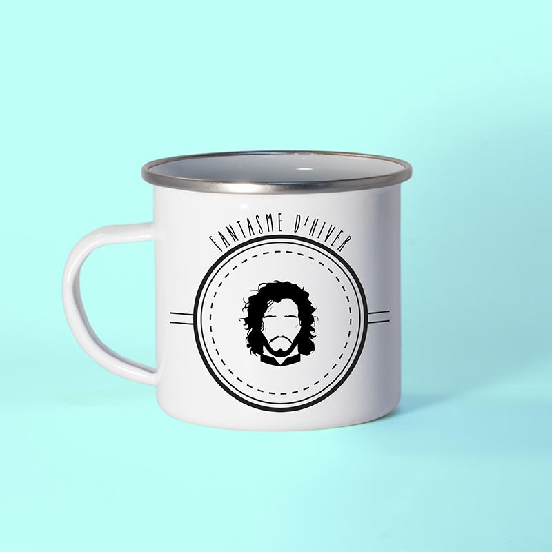 Mug en métal émaillé Jon Snow