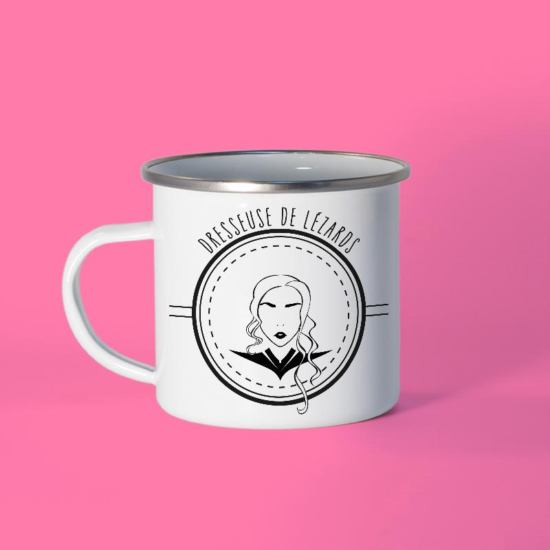 Mug en métal émaillé Daenerys Targaryen