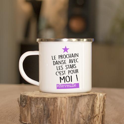 """Mug émaillé """"Rêveuse"""" de la collab Zoé la Modeuze"""