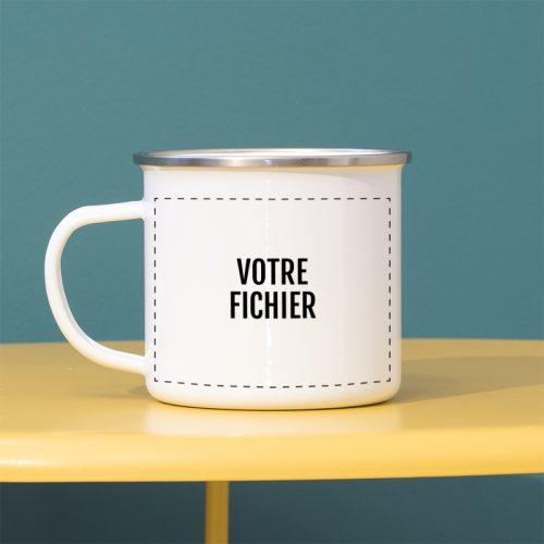 Téléchargez vos fichiers pour personnaliser vos mugs