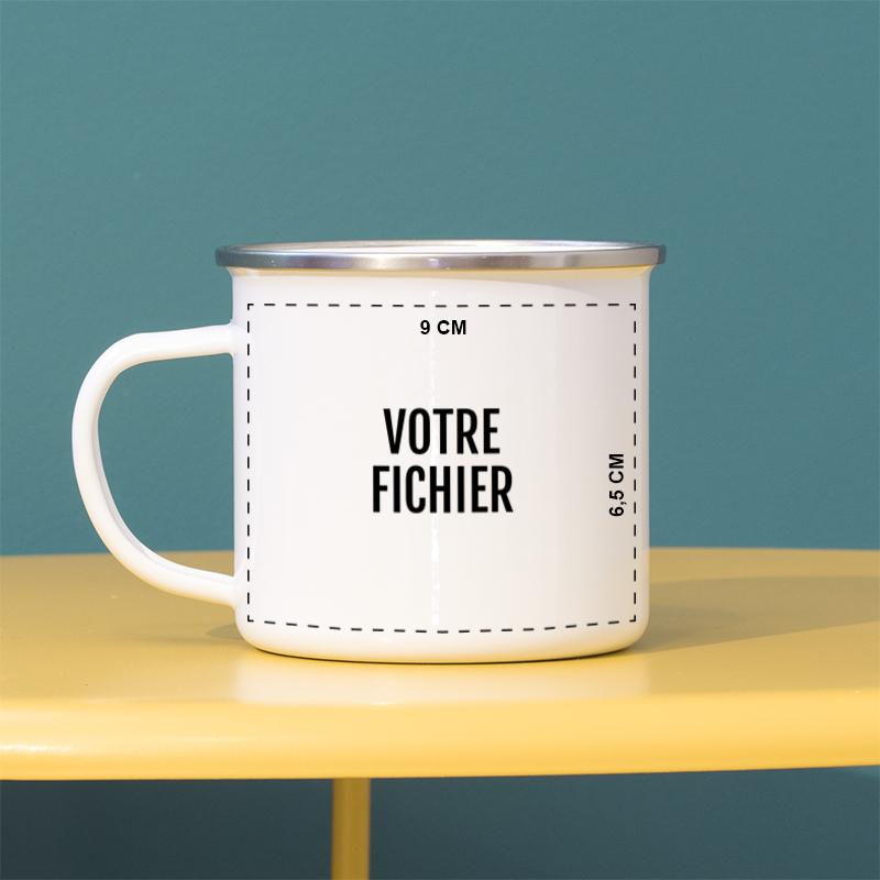 mug personnalisé avec votre image