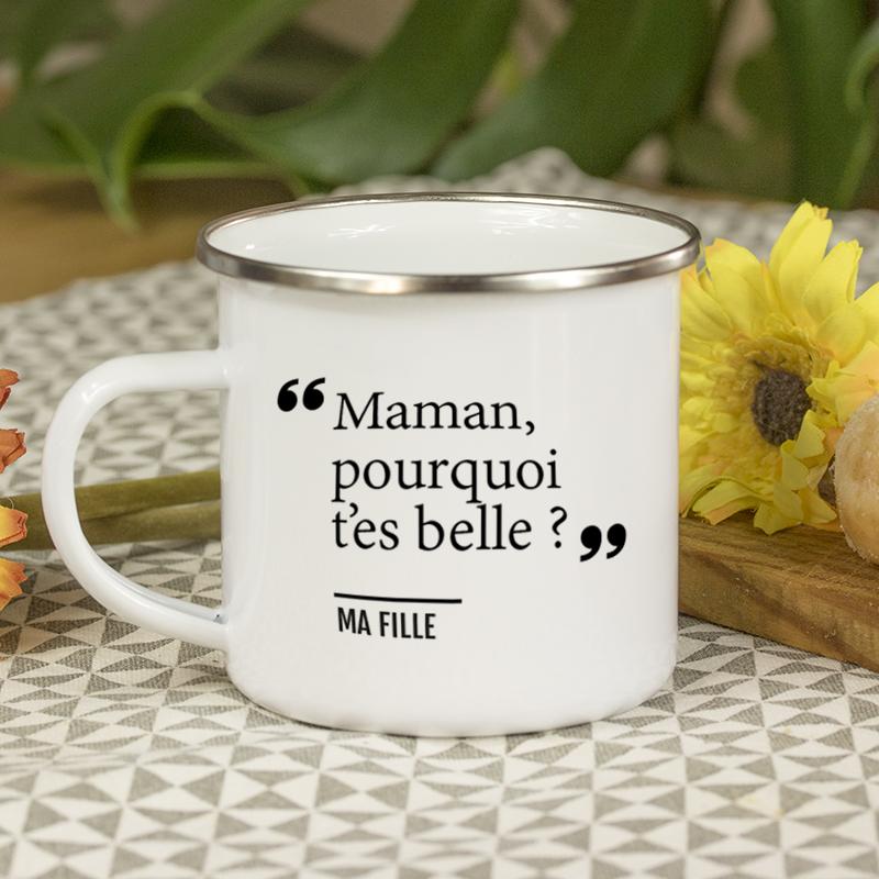 Mug avec une phrase mignone
