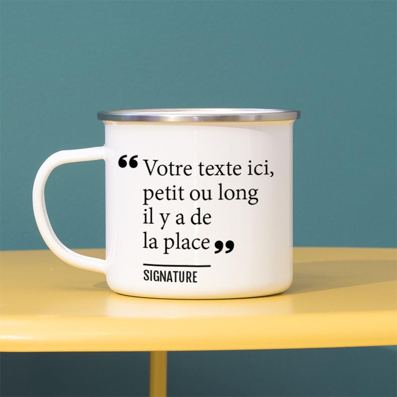 Personnalisez vos mugs